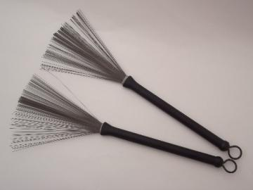 Regal tip drum brush set, vintage drum sticks