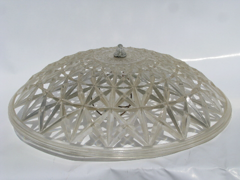 Retro 1950 S Vintage Plastic Clip On Lamp Shade For