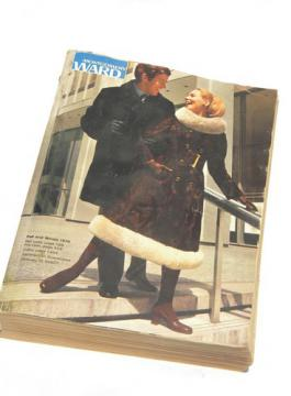 Retro 1970 Wards Fall/Winter catalog w/vintage lighting, menswear etc