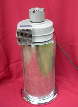 Retro 1970s Aireox model 44 air purifier filter w/chrome canister