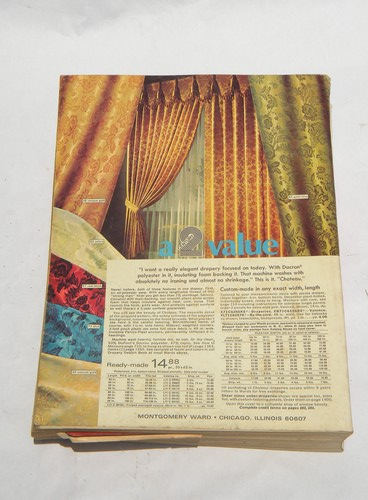 Retro 1970s Montgomery Wards 1972 Fall Winter Catalog