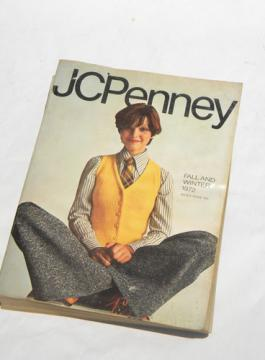Retro 1972 JC Penney Fall/Winter catalog w/vintage lighting/mini bikes etc