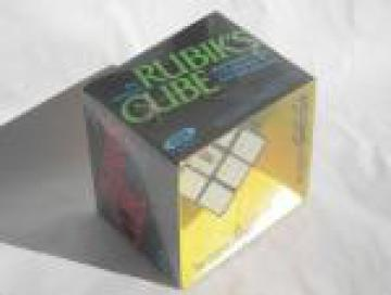 Retro 1980 Rubik's Cube, Ideal puzzle toy, still sealed