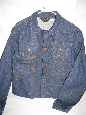 6e4796a61f Retro 70s vintage Wrangler western wear cowboy   rancher s denim jacket