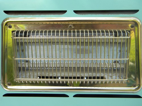 Retro Aqua Turquoise Arvin Electric Space Heater Early