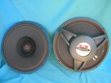 Retro Electro-Voice Wolverine LS-12 8 ohm full range loud speakers