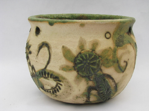 Retro Hand Thrown Stoneware Pottery Plates Amp Pots Studio
