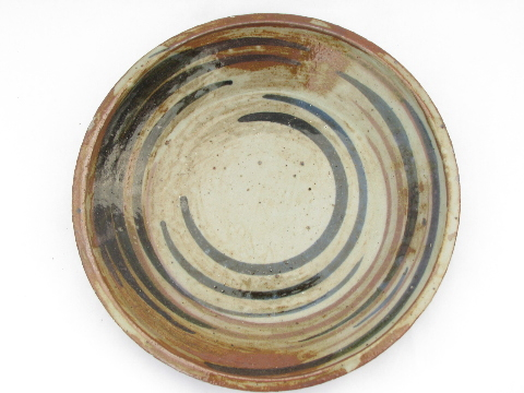 Retro Hand Thrown Stoneware Pottery Plates Pots Studio