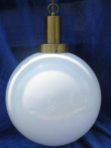 Retro Lighting 60s Mod Big Round Ball Hanging Lamp