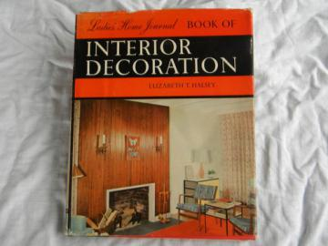 Retro mid century modern Ladies Home Journal Interior Decoration w/color photos