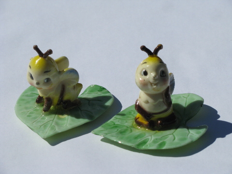 Retro plastic cake toppers collectible figurines enesco for Plastic bees for crafts
