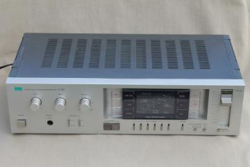 Sansui R-505 Quartz Pll Synthesizer Receiver, retro stereo receiver audio equipment