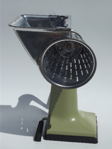 Sears hand crank salad master slicer / shredder / grater ...