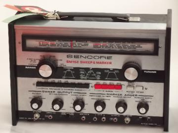 Sencore SM152 sweep & marker, vintage electronics test equipment