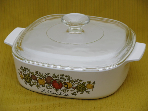 Spice Of Life Retro Corningware Casserole Square Baking