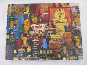 Springbok 500 piece vintage jigsaw puzzle, Mr. Peanut