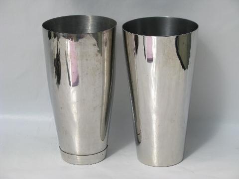 Stainless Steel Malted Cups For Vintage Malt Milkshake Mixer