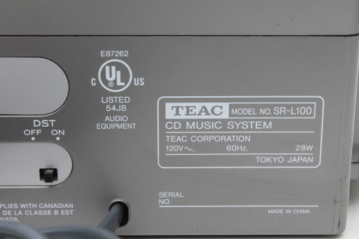 teac fm clock radio instructions