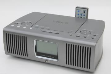 TEAC SR-L100 CD music system w/ remote, AM FM clock radio, CD w/Aux input jack for mp3 player or tablet