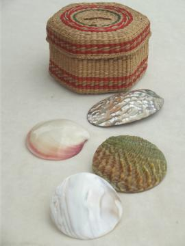 Tropical seashell scarf holder slides for ladies scarves, sarongs