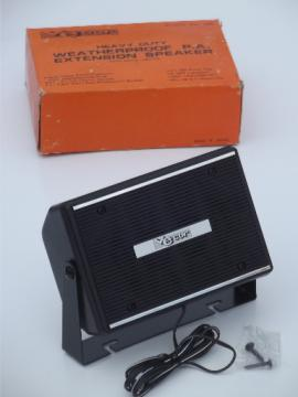 Vecore weatherproof speaker No 786, Vintage exterior pa speaker, Japan