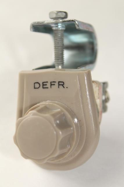 Vintage 12 Volt Hupp Dashboard Fan 7 Quot Heater Circulating