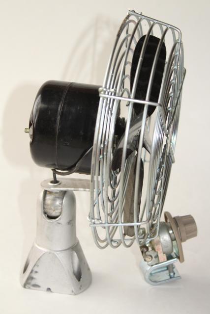 Vintage Fan Switch : Vintage volt hupp dashboard fan quot heater circulating