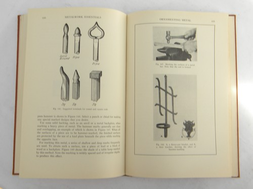 Vintage 1930s handbook of techniques for metal crafters & artisans