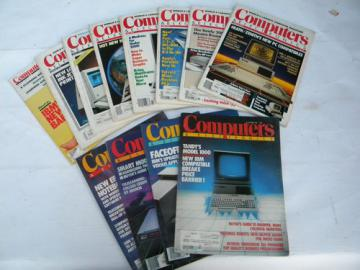 Vintage 1976 full year Popular Electronics magazines w/DIY radio&stereo projects