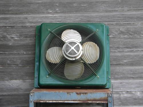 Vintage 20 Inch Industrial Machine Age Window Intake
