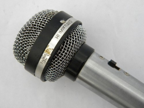 Vintage 60s Norma MD-1666 unidirectional dynamic microphone, Japan