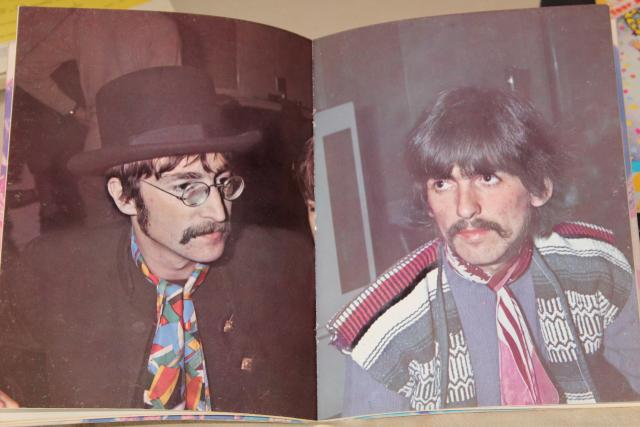 vintage Beatles lot sheet music & song books, Let It Be Sgt Pepper Mystery Tour