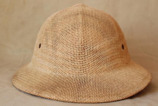 e86ccb7c7d972 vintage Brookstone sun helmet