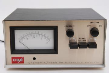 vintage CDE Ham II CD44 transmit / receive direction  antenna rotator control for shortwave or CB