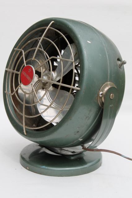 Vintage Coronado Electric Fan Mid Century Modern Retro