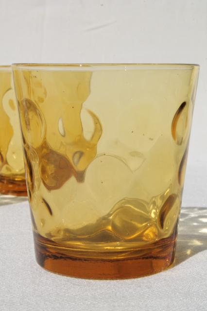 Low Ball Drinking Glasses