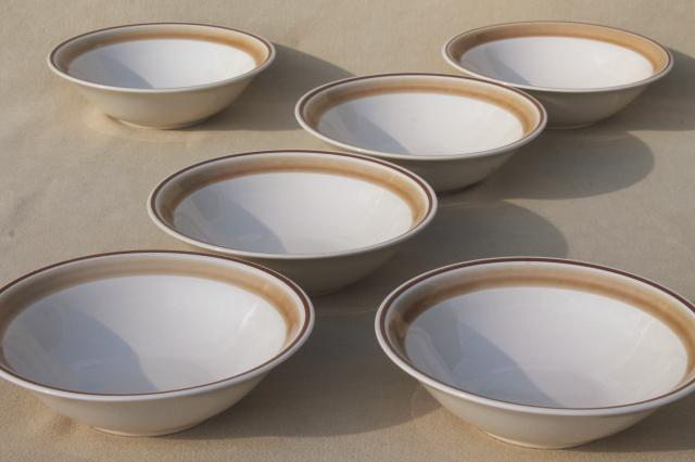 Vintage Hearthside Japan Stoneware Pottery Dishes Plain