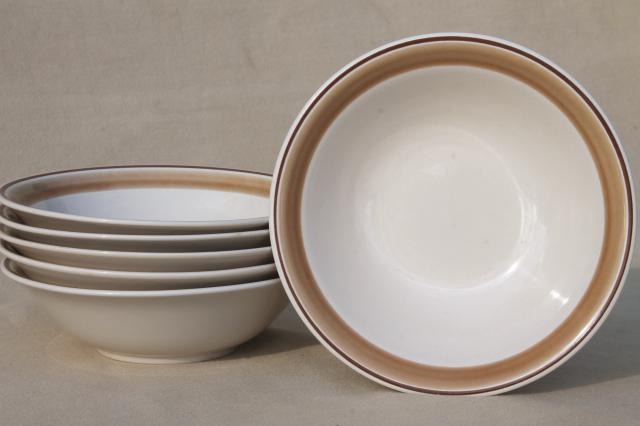 vintage Hearthside Japan stoneware pottery dishes, plain Water ...