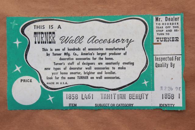 vintage J H Lynch print Tina, retro girl art painting, Turner framed ...