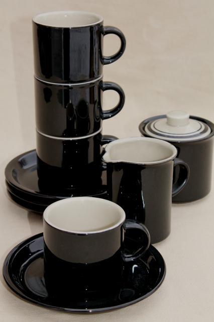 stoneware coffee mug from Wildwings $24.95 | Stoneware ...  |Black Stoneware Pottery Mug