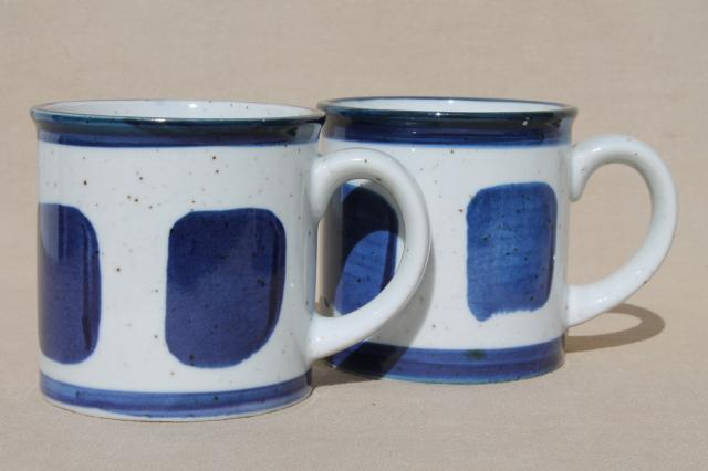 Blue Gl Coffee Mugs Drinker