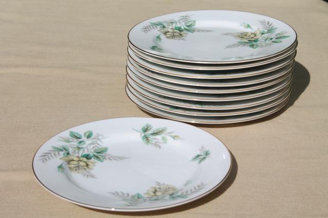 Vintage Noritake China Bread Amp Butter Or Dessert Plates