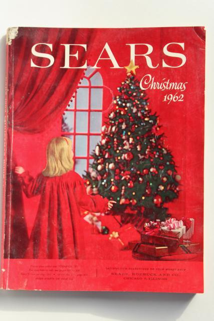 Vintage Sears Christmas Wish Book Catalog 1962 Baby