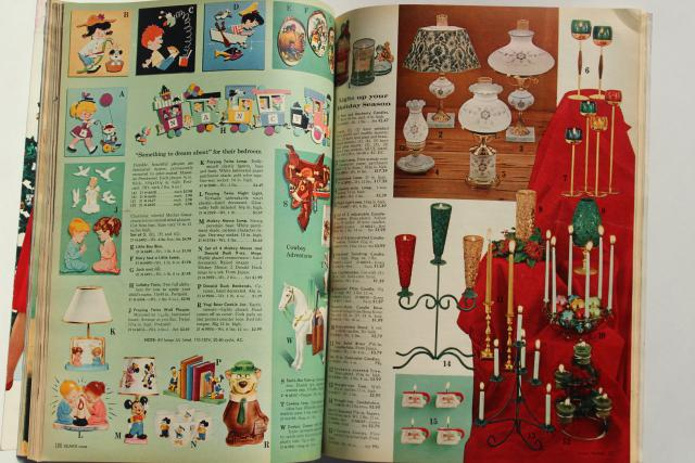 vintage Sears Christmas Wish Book catalog 1962, baby boomer toys, retro fashion & decor