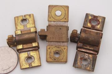 vintage Square D thermal units   motor overload relay parts mixed lot B2.65 B6.90 B6.25