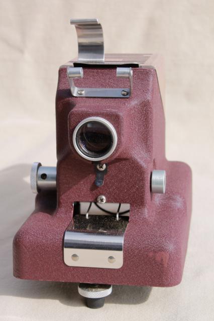 Vintage Standard Projector Filmstrip Model 333 Cd Complete