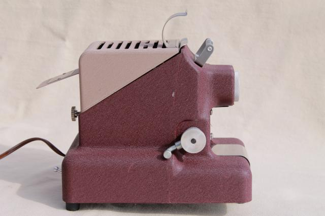 vintage Standard Projector filmstrip Model 333-CD complete w/ instructions