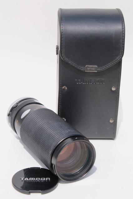 vintage Tamron SP zoom lens 60-300mm 1:3.8-5.4 Adaptall-2 mount for Canon FD Japan