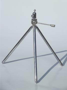 Vintage Alpex camera tripod with Prazision ball head