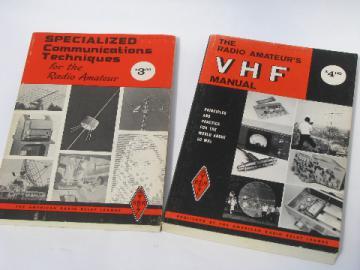 Vintage ARRL specialized communications for short wave&ham radios